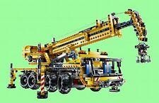 LEGO Technic 8053   Mobiler Kran mit Power Funktion - Komplett