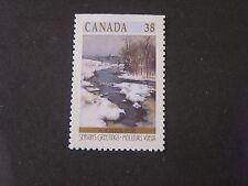 Canada, Scott # 1256b,1989 Winter Landscapes 13X121/2 Perf. Issue Mnh