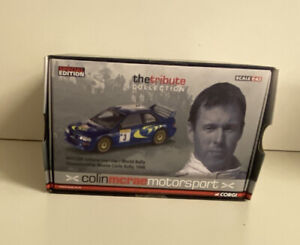 Corgi VA12300 Colin McRae Tribute Collection Subaru Impreza