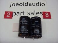 Sony STR-V35 Receiver Capacitors 42V 6800UF. 1 Pair. Tested. Parting Out STR-V35