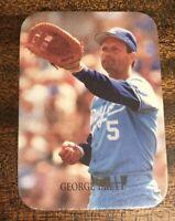 RARE GEORGE BRETT INDIANA BLUE SOX BASEBALL CARD KANSAS CITY ROYALS NM+ MLB HOF