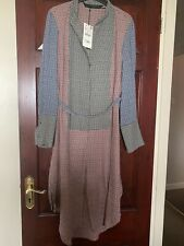 Zara Patchwork Maxi Shirt/ Dress