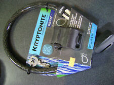 KRYPTONITE KRYPTOFLEX COMBINATION CABLE LOCK BIKE BMX MTB SECURITY 15MM x 65CM
