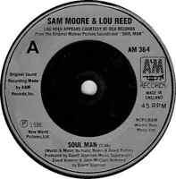 "Sam Moore & Lou Reed – Soul Man  7"" Vinyl 45rpm"