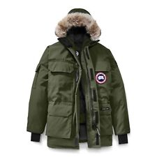 Canada Goose Mens Expedition Parka Coat Military Green 4565M Size M (Medium)