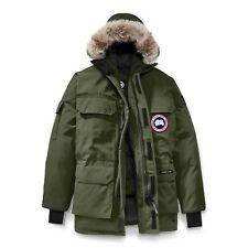Canada Goose Herren Expedition Parka Mantel Militärgrün 4565M GRÖSSE M (Medium)