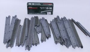 NICE LOT OF KATO N SCALE UNITRACK STRAIGHT & CURVED