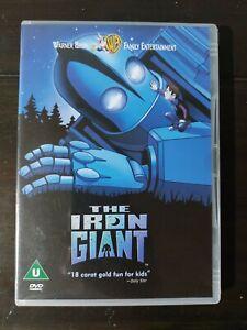 The Iron Giant 🎬 DVD Region 2 PAL DVD free shipping