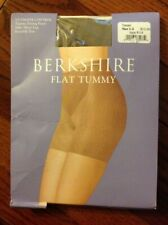 Berkshire Flat Tummy Pantyhose Size 1-2 Nylons Taupe