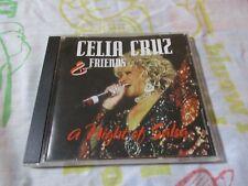 Celia Cruz and Friends A Night of Salsa CD 1999 Tito Puente