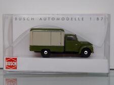 Busch 52000 - H0 1:87 - Framo V901/2 Carro de Maletas, Verde/Beige -