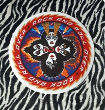 KISS ROCK AND ROLL OVER  TURNTABLE (RECORD PLAYER) SLIPMAT.