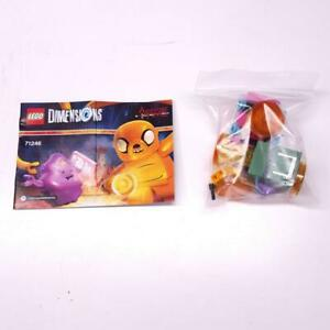 Lego Dimensions Adventure Time Team Pack 71246 Jake & Lumpy Complete R6100