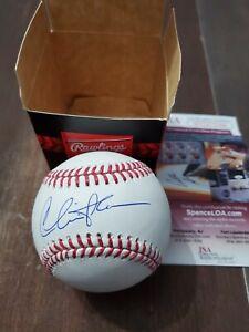 Charlie Sheen (Rick Vaughn) autographed Major League Baseball-JSA COA