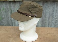"KOREAN WAR PATTERN CANADIAN ARMY WOOL WINTER ""BUFFALO"" CAP SIZE 7 / 56cm NOS"