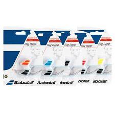 Babolat Flag Vibration Dampener (Black/White) 2 Pack