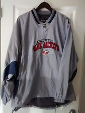 NHL-CCM-Columbus Bluejackets - Windbreaker Jacket Pullover Men's XL