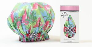 Dry Divas - Bouffant Shower Cap - Single and Ready to Fla-Mingle