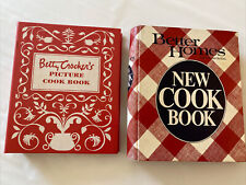 Betty Crocker's Picture Cook Book & Better Homes new cook book euc