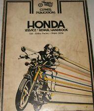 Honda 125-350cc Twins 1964-1974 Clymer Service Repair Manual handbook