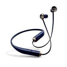 Sol Republic Shadow Wireless Bluetooth Neckband Earphones - Navy