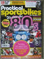 Practical Sportsbikes September 2018 Honda MC16 CB1 NC27 Katana Kawasaki Z1100R