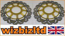 Paire Or ondulé Disques Honda CBR1000 RR6 RR7 An 2006-2007 WDF921