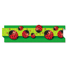 "Carson-Dellosa Publishing Pop-It Border Ladybugs 3"" x 24' 8 Strips/Pack 108040"
