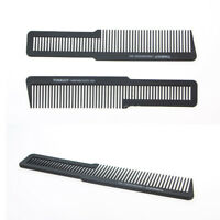Plastic Hairdressing Carbon Anti Static Comb Professional Salon Hair Cut Tools