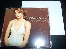 Delta Goodrem Not Me Not I Australian Limited Potser Pack CD 2 Single - Like New