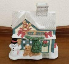 Partylite Toy Shop Christmas Village Tealight Candle Votive Holder P0299 Decor