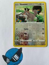 Pokemon TCG : Skwovet 151/192 Reverse Holo Rebel Clash