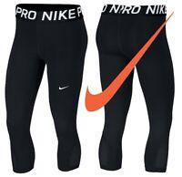 Nike Cropped Leggings Womens Capri Gym Yoga Pants Leggins Ladies Jogging Pant