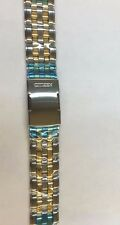 Citizen BL8004-53E Watch Band Stainless Steel Two Tone Bracelet Replacement Band