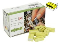 50 pcs Wago 243-508 Bornes MICRO pour boîtes de dérivation Ø 0,8 mm (Réf#R-242)
