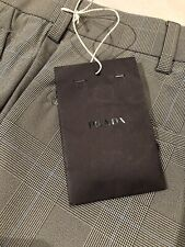 Pantalone Prada Uomo Tg.44 Principe Di Galles