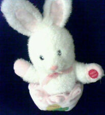 "Kuddle Me Toys Peter Cottontail Musical Easter Bunny Rabbit - 12"" Tall"