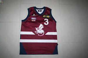 AFL VFL TAC CUP SANDRINGHAM DRAGONS MATCHWORN JUMPER SMALL MENS KOMBAT