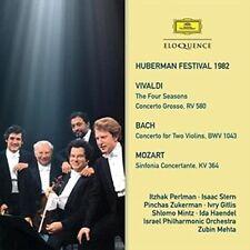 Huberman Festival 1982; Vivaldi, Bach & Mozart, Itzhak Perlman, Pinchas Zukerman