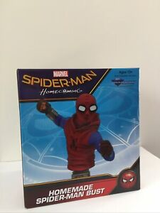 Marvel Spider-man Homecoming - Homemade Spider-man Bust - Brand New In Box