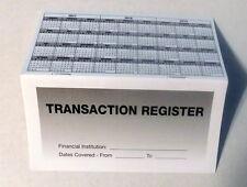 PremiumTransaction Registers 2017-19 Checkbook Checking Account Bank