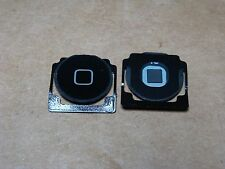 OEM Black Home Button w/Spring iPad 2 ,3, 4 Menu Start Key Replacement Part -USA