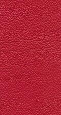 Italian Full Leather Hide Colour Box Red
