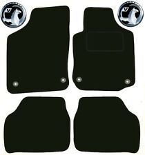 Vauxhall Corsa C 2000-2006 Black Tailored Deluxe Quality Car Mats Hatch back mk2