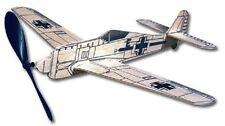 Focke-Wulf FW 190: West Wings Rubber Powered Balsa Flying  Model Plane Kit WW416