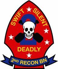 US Marines USMC 2nd Second Recon Battalion Decal 4 inch