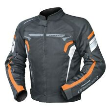 Mens DriRider Air Ride 4 Jacket KTM Orange Black Dri Rider Summer Vented Mesh