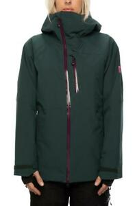 686 GLCR Women's Hydra Insulated Jacket Dark Spruce