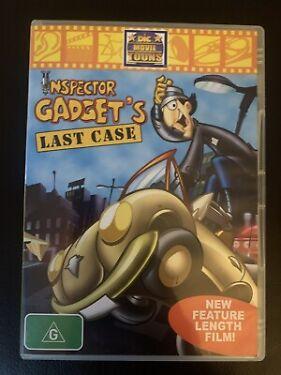 Inspector Gadgets Last Case DVD 2002 Kids Series Rare Region 4