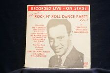 ALAN FREED DANCE PARTY VOL. 2:Various Artists:Near Mint RARE MONO Vinyl LP